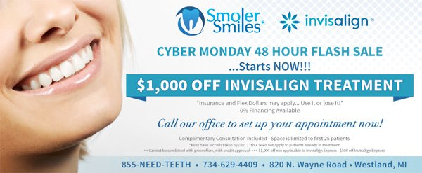 $1,000 Off Invisalign Treatment