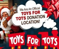 Smoler Smiles is an Official Toys For Tots Donation Location!