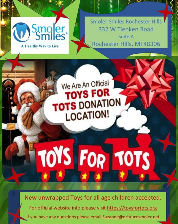 Toys For Tots Family Request : Smoler smiles is an official toys for tots donation