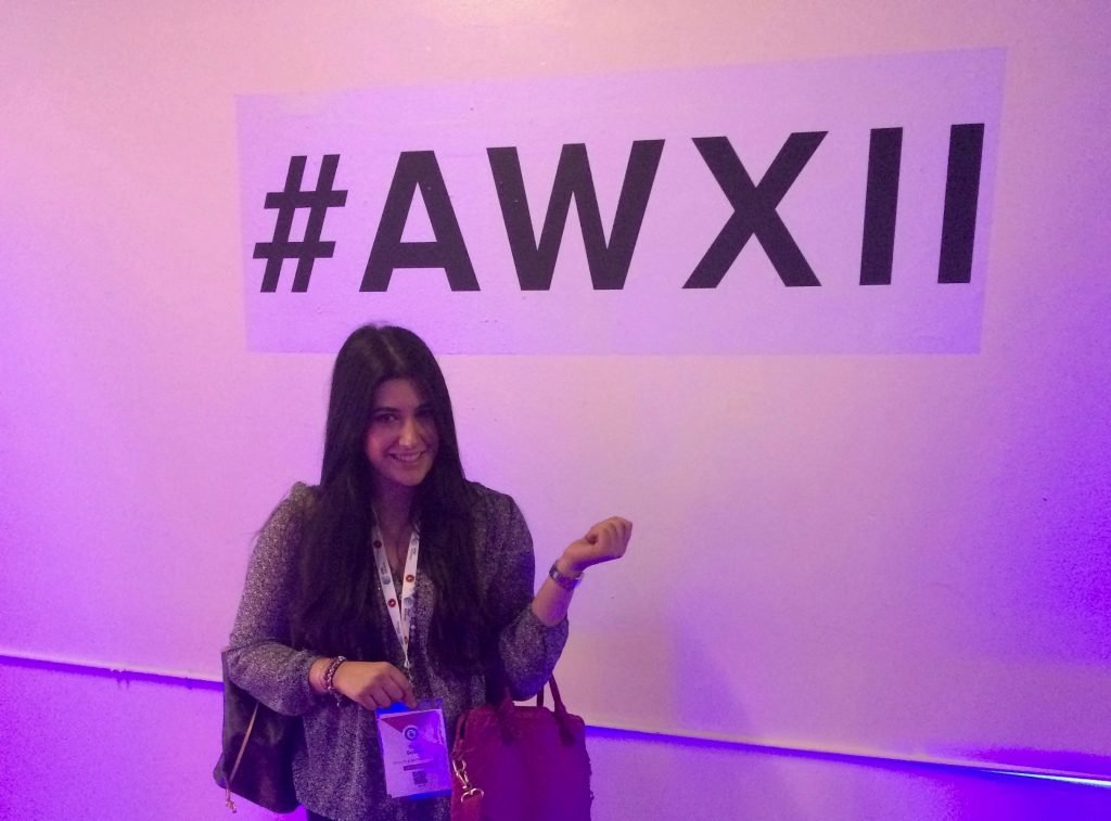 Sara plays many roles at Ogilvy, including actively looking for new clients, reading the industry trades, and attending Advertising Week (pictured here) to keep a strong pulse on the industry.