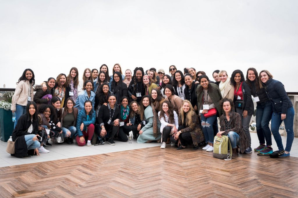 Sara and Forbes 30 Under 30's at the first ever Women's Global Summit in Israel this past Spring.