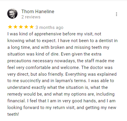 Westland dentist review